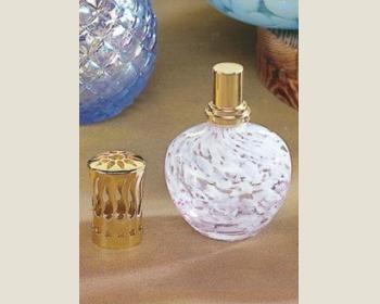 芳香薰香瓶小137-14(紫白點小甕)