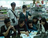 中國醫藥學大學(中草藥科)學生參觀工廠