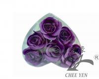 香皂花(紫玫瑰花辦泡澡保濕嫩白皂)