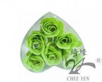 香皂花(綠玫瑰花辦泡澡保濕嫩白皂)