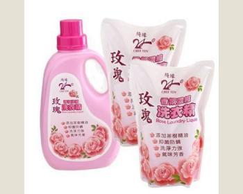 玫瑰洗衣精*1瓶+補充包*8包-免運費