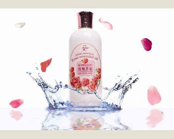 玫瑰香氛.檜木精油美白沐浴乳300ml *1瓶
