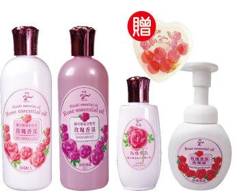 綺緣 玫瑰香氛 沐浴/洗髮保養-499元優惠組