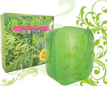 茉草淨身皂80g(加味六合一)(有涼配方)8入組