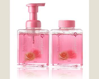大綠地大馬士革玫瑰美白保濕潔顏慕絲160ml*1瓶(慕斯壓頭)