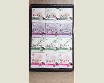 無患子果肉香皂組禮盒(12入)-4款香味(隨機出貨)