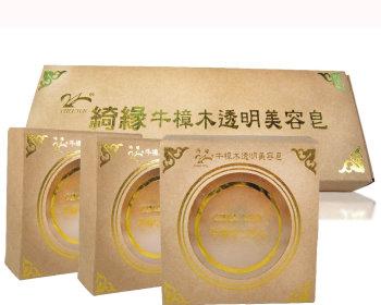 牛樟透明美容皂套裝(3入)*6-免運費