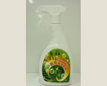 無患子泡沫廚房清潔噴劑500ml*1瓶(附噴頭)