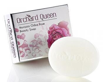 摩洛哥千葉玫瑰氨基酸嫩膚皂100g*12個+1個(香皂袋)