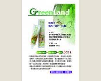 GreenLand 檜木無患子檜木三效合一牙膏 (6入)