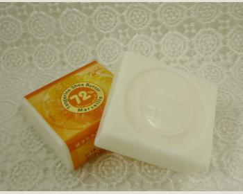 《 綺緣 》橘子乳木果馬賽皂90克*1個