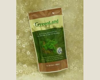 GreenLand 漢本首烏密絲髮漾洗髮精300ML-補充包*1包