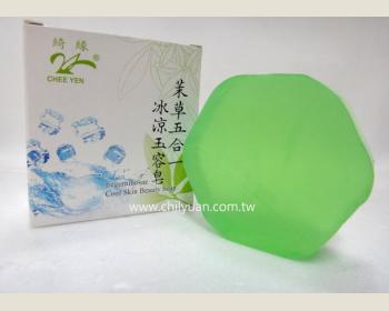 茉草五合一.冰涼玉容皂80g*1個