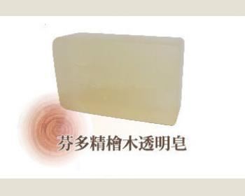 綺緣芬多精檜木透明皂180g*1個