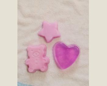 1.皂型皂(玫瑰)*1個