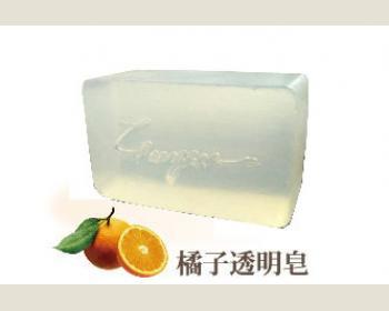 綺緣-橘子透明皂180g*1個