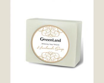GreenLand 香水手工皂(薏仁嫩白) 120g*1個
