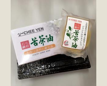 苦茶油液體黃金滋養皂100g 一盒2入裝