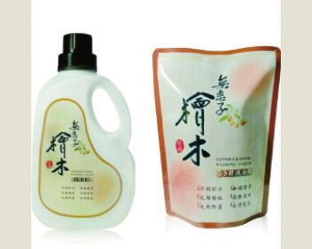 【綺緣】無患子檜木香防螨抗菌洗衣精1750g(1+8)件組
