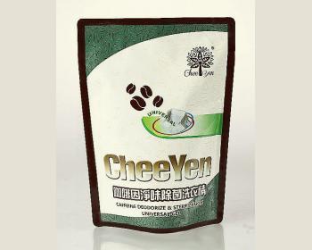 CHEE YEN咖啡因淨味除菌洗衣精1500g*10包