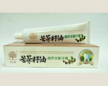 綺緣 苦茶籽油牙膏120 g * 1 條