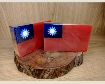 中華民國國旗皂150g(薰衣草)