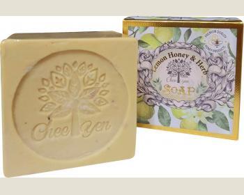 綺緣-檸檬香蜂草精油植萃皂160g*1個
