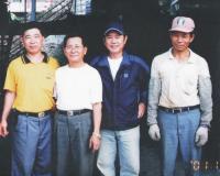 3三立電視台採訪黃西田電視名人參訪到此一遊