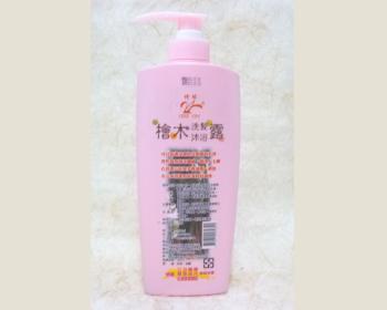 檜木洗髮沐浴雙效乳700ml*1瓶(粉紅瓶)
